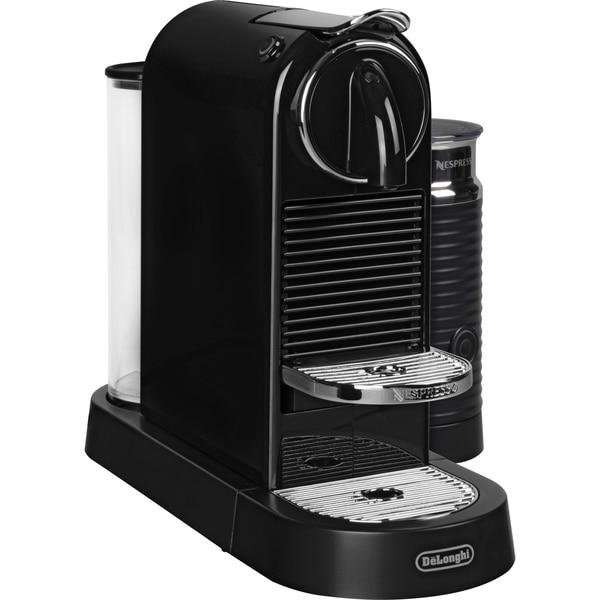 DeLonghi Kapselmaschine Nespresso Citiz EN 267.BAE schwarz-silber