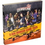 Asmodee GmbH Brettspiel Zombicide: 9 Rue Morgue Game Tiles