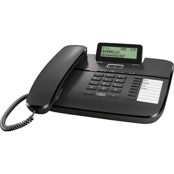 Gigaset analoges Telefon DA810A schwarz