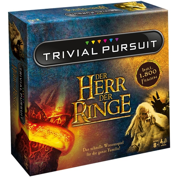 Winning Moves Trivial Pursuit Quizspiel Herr der Ringe Collector's Edition