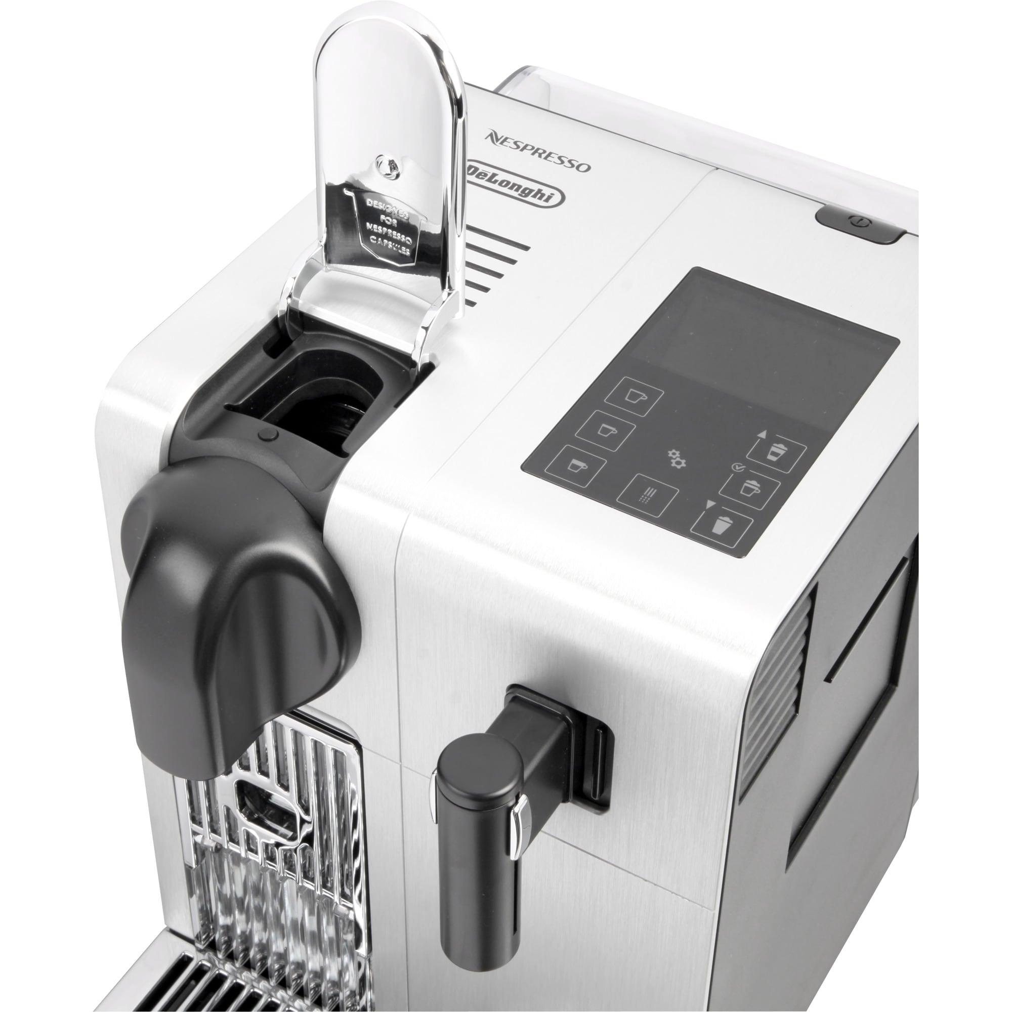 DeLonghi Kapselmaschine Nespresso Latissima EN750.MB aluminium-schwarz
