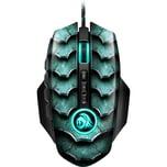 Sharkoon Gaming-Maus Drakonia II grün