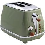 DeLonghi Toaster Icona Vintage CTOV 2103.GR