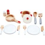 HAPE Spielküche Koch- & Servierset