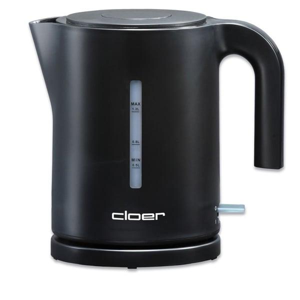 Cloer Wasserkocher 4120 1,2 l schwarz Kunststoff 360° Drehfuß/Abschaltautomatik