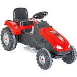 Jamara Kinderfahrzeug Ride-on Traktor Big Wheel rot