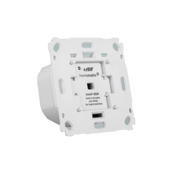 Homematic IP Schalter Schalt-Mess-Aktor für Markenschalter