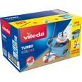 Vileda Bodenwischer Wischmop-Set Turbo Easy Wring & Clean Box blau