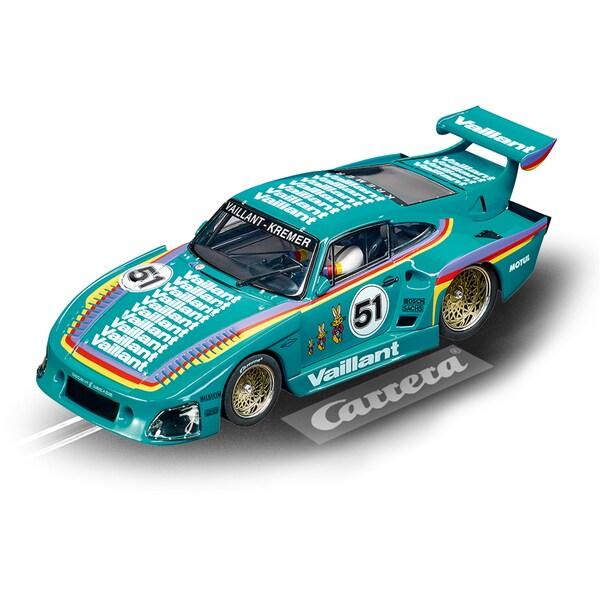 """Carrera Rennwagen Digital 132 Porsche Kremer 935 K3 """"Vaillant, No.51"""""""