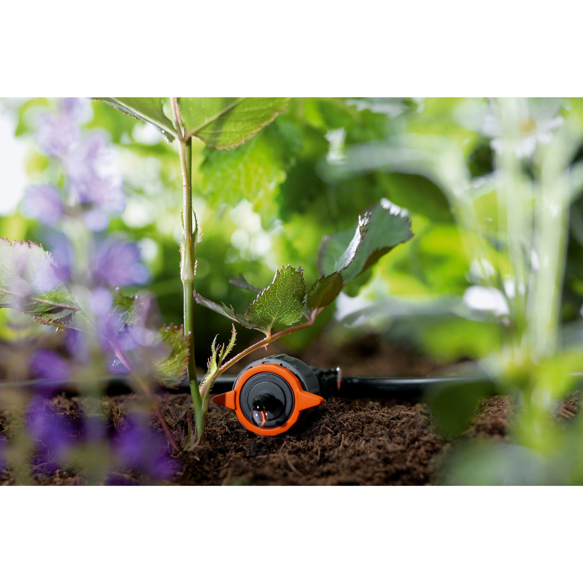 Gardena Tropfsystem Regulierbarer Reihentropfer