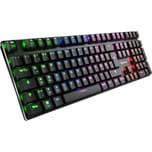 Sharkoon Gaming-Tastatur PureWriter RGB Kailh Blue