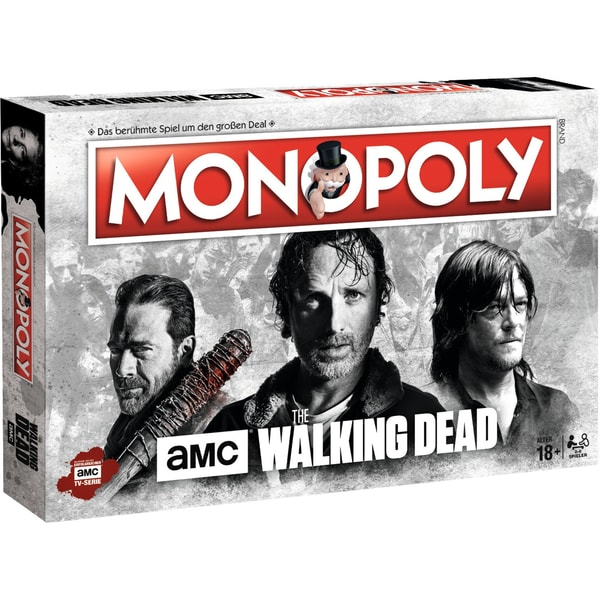 Winning Moves Monopoly Brettspiel The Walking Dead AMC