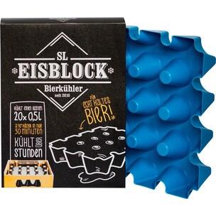 SL Eisblock Bierkühler für 0,5l Flaschen