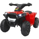 Jamara Kinderfahrzeug Ride-on Mini Quad Runty rot