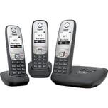Gigaset analoges Telefon A415A Trio schwarz