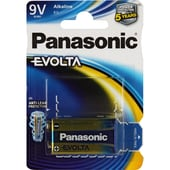 Panasonic Batterie EVOLTA Platinum 6LR61EGE/1BP