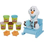 Hasbro Kneten Play-Doh Olafs Schlittenfahrt