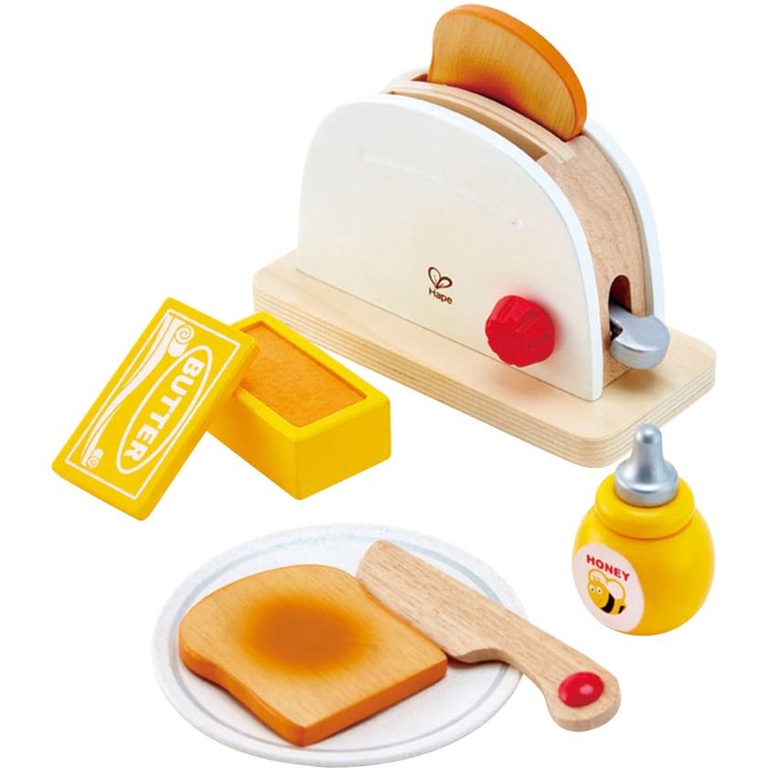 Hape Kinderhaushaltsgerät Pop-up-Toaster-Set