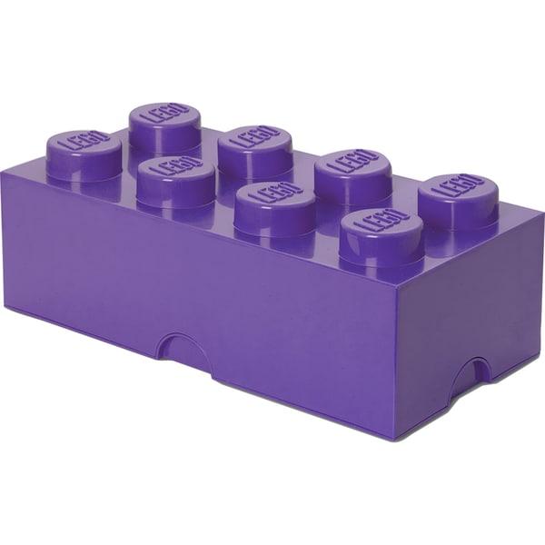 Room Copenhagen Aufbewahrungsbox Lego Storage Brick 8 lila