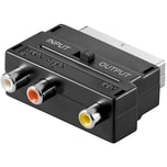 goobay Adapter Scart auf 3x Cinch