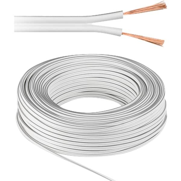 goobay Kabel Lautsprecherkabel 2x 1,5 mm²