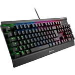 Sharkoon Gaming-Tastatur SKILLER MECH SGK3 Kailh Blue