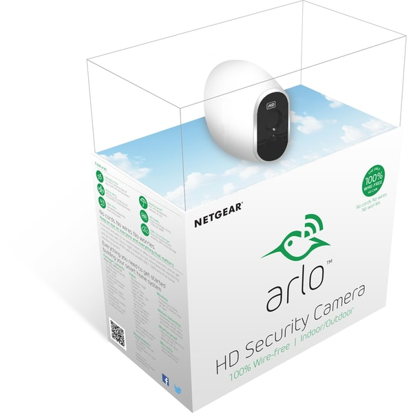 Arlo Netzwerkkamera Sicherheitssystem mit einer HD-Kamera