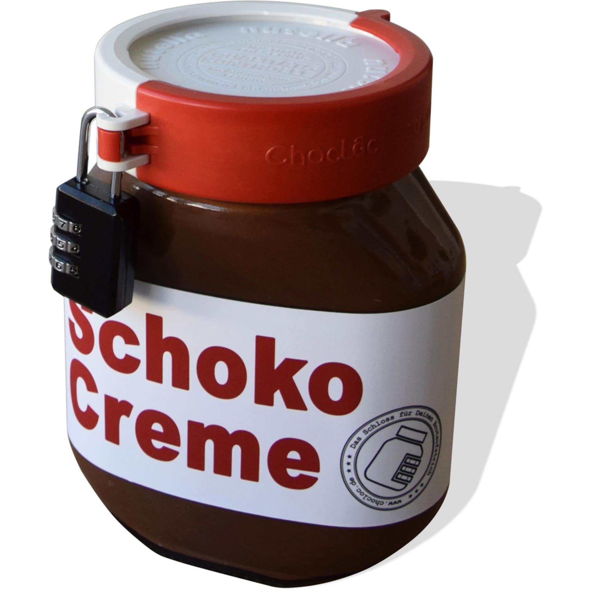 Chocloc Schraubdeckel-Verschluss rot-weiß