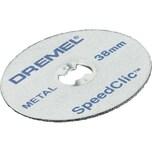 Dremel Trennscheibe EZ SpeedClic Metall-Trennscheiben (SC456B), 12 Stück