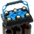 Click-IT Haushaltshilfe Bottle Buddy Bob No. 1 schwarz/hellblau