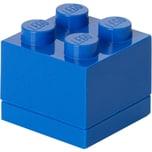 Room Copenhagen Aufbewahrungsbox LEGO Mini Box 4 blau