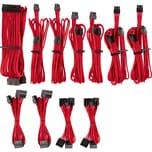Corsair Kabel Netzteilkabel Premium Pro-Kit Typ 4 Gen 4, 20-teilig rot