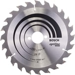 Bosch Kreissägeblatt Optiline Wood 190x30mm 2608640615