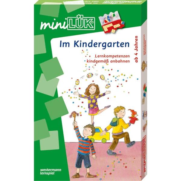 Westermann Lernbuch miniLÜK-Set - Im Kindergarten