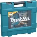 Makita Bohrer- & Bit-Satz Bohrer-Bit-Set, 104-teilig