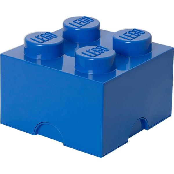 Room Copenhagen Aufbewahrungsbox Lego Storage Brick 4 blau