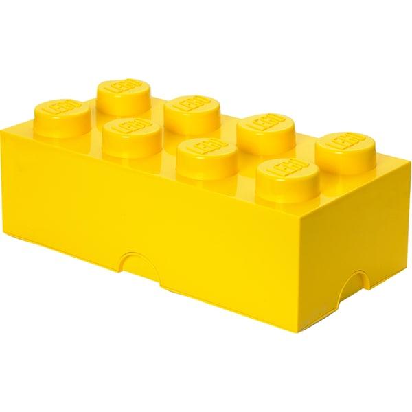 Room Copenhagen Aufbewahrungsbox Lego Storage Brick 8 gelb