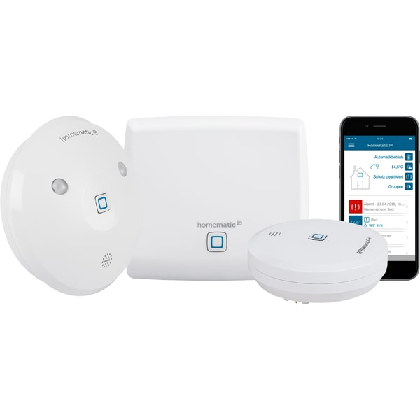Homematic IP Set Starterset Wasseralarm