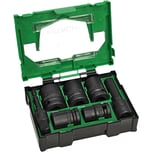 Hitachi Set Kraft-Stecknuss-Box II