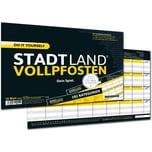 Pegasus Brettspiel Denkriesen - Stadt Land Vollpfosten - Do It Yourself-Edition