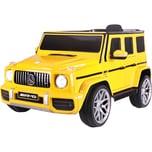 Jamara Kinderfahrzeug Ride-on Mercedes-Benz AMG G 63 gelb