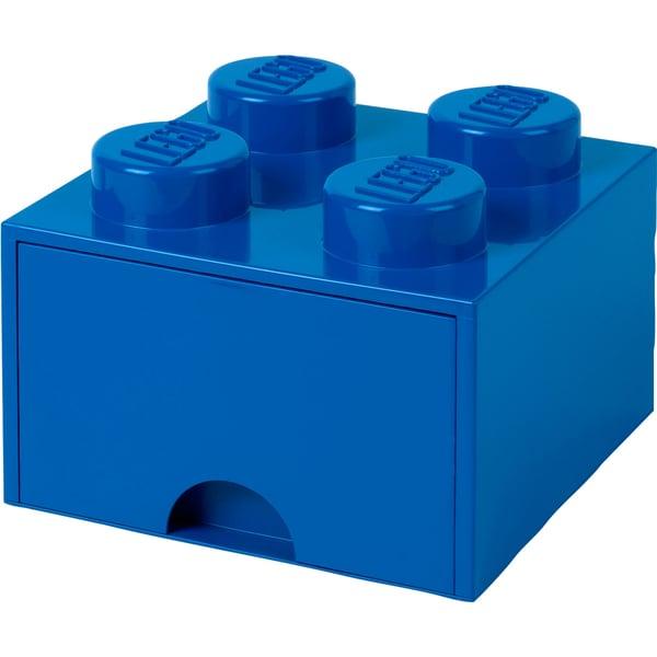 Room Copenhagen Aufbewahrungsbox LEGO Brick Drawer 4 blau