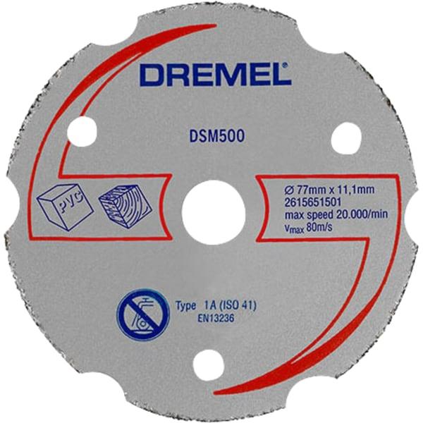 Dremel Trennscheibe DSM20 Mehrzweck-Karbidtrennscheibe DSM500
