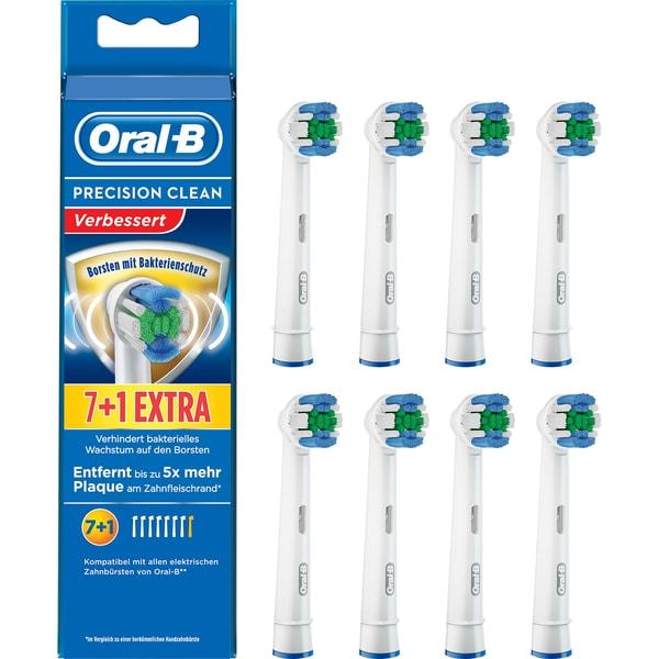 Braun Aufsteckbürste Oral-B Precision Clean 7er+1
