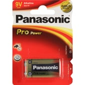 Panasonic Batterie Pro Power Gold 9V 6LR61PPG/1BP