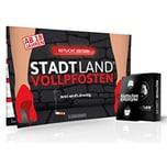 Pegasus Brettspiel Denkriesen - Stadt Land Vollpfosten - Rotlicht Edition