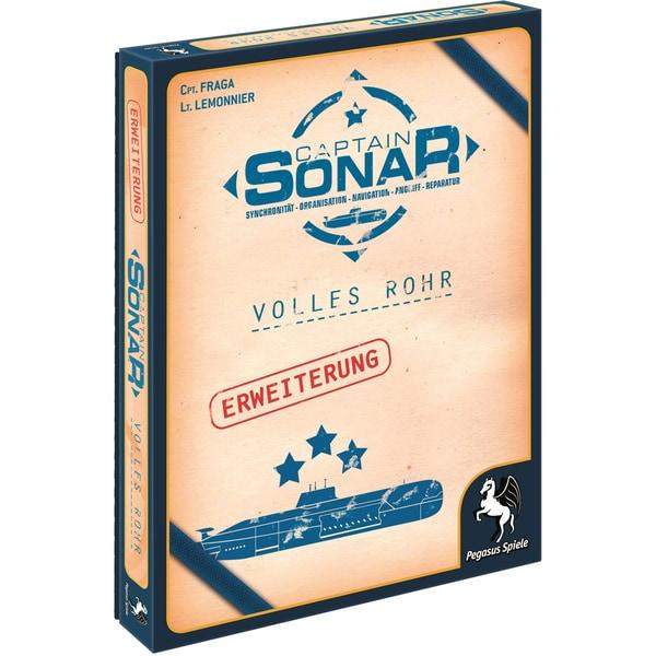 Pegasus Brettspiel Captain Sonar: Volles Rohr