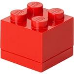Room Copenhagen Aufbewahrungsbox LEGO Mini Box 4 rot