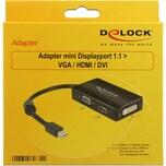 DeLOCK Adapter MiniDisplayport > VGA/HDMI/DVI