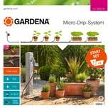 Gardena Micro-Drip-System Start-Set Pflanztöpfe M automatic